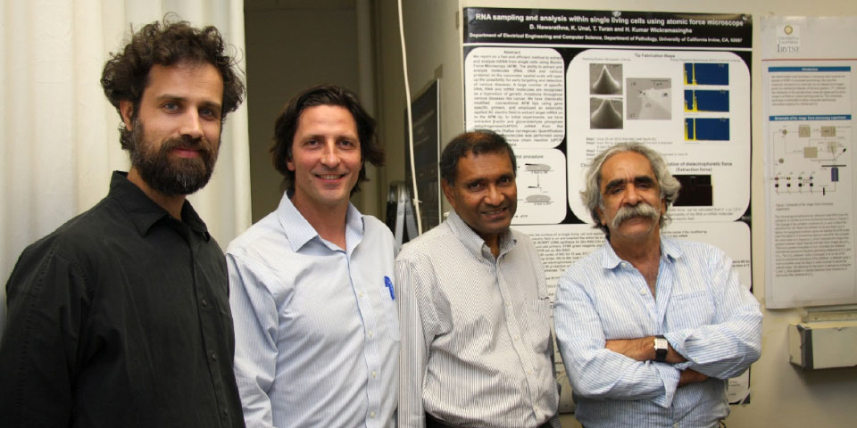 P.I. Filippo Capolino and his colleagues received a W. M. Keck Foundation grant